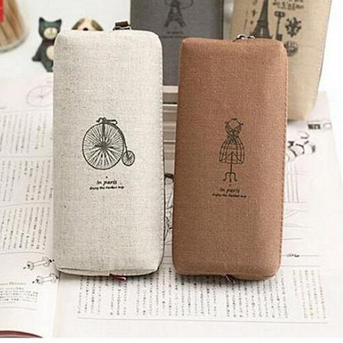 Eco friendly Canvas Cosmetic Case