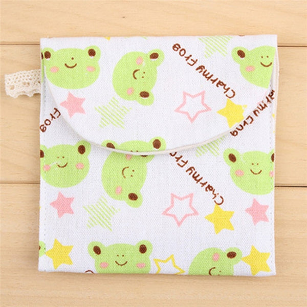 Handmade Women/Girls Sanitary Napkin Storage Bag