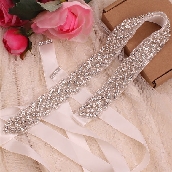 Crystal Rhinestone Bridal Belt