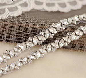 Rhinestones Wedding Belts