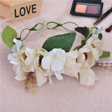 Boho  Flower Headpiece