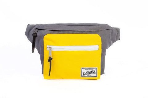 Q.NEPACK GRAY/YELLOW