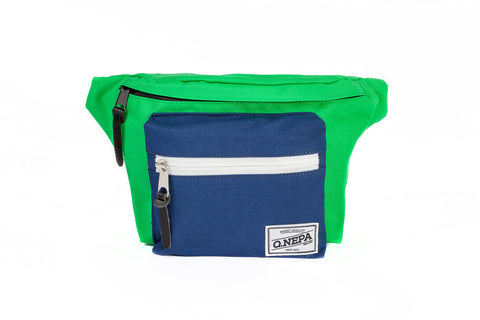 Q.NEPACK GREEN/NAVY