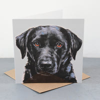 Labrador Fine art card