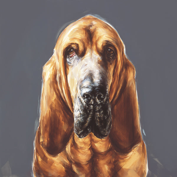 1.Bloodhound Limited Edition Print