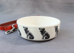Border Terrier Dog Feeding Bowl - Small