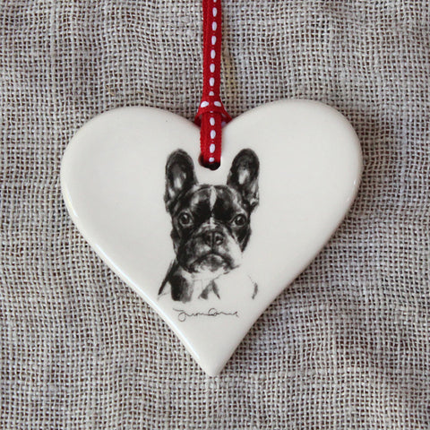 French Bulldog Heart