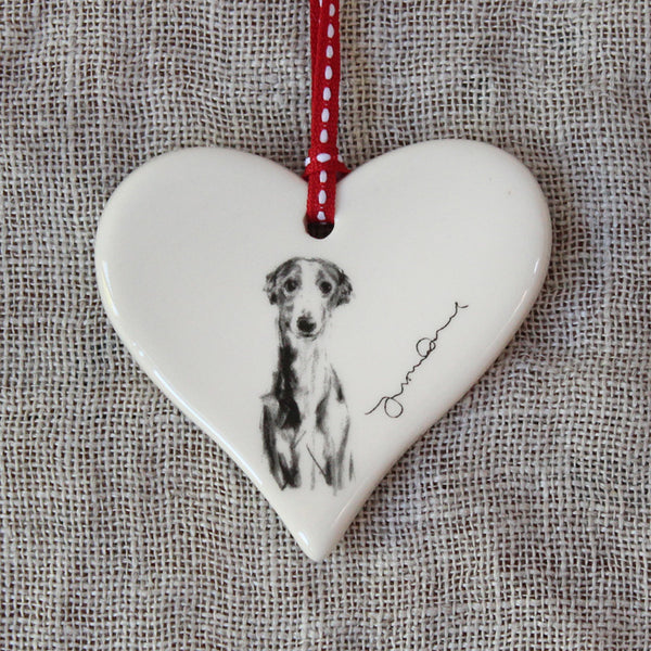 """Gentle"" Whippet Heart"