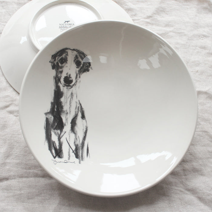 Gentle Whippet - Large Bowl