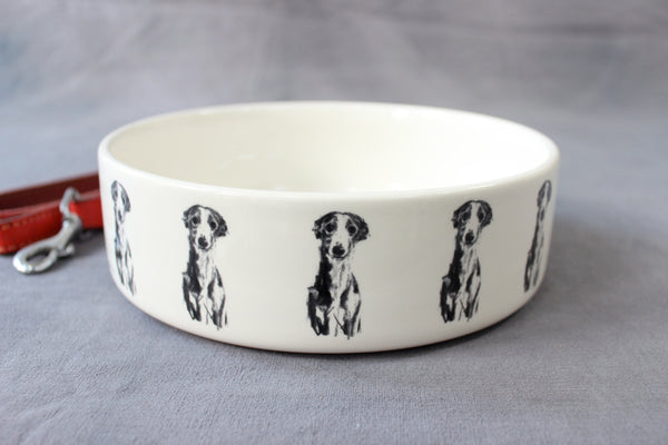 "Whippet ""Gentle"" Dog Feeding Bowl - Large"