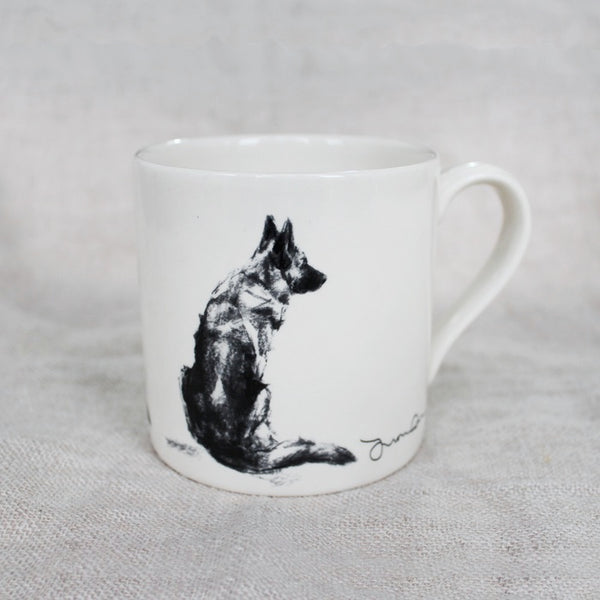 German Shepherd Dog Mug - GSD