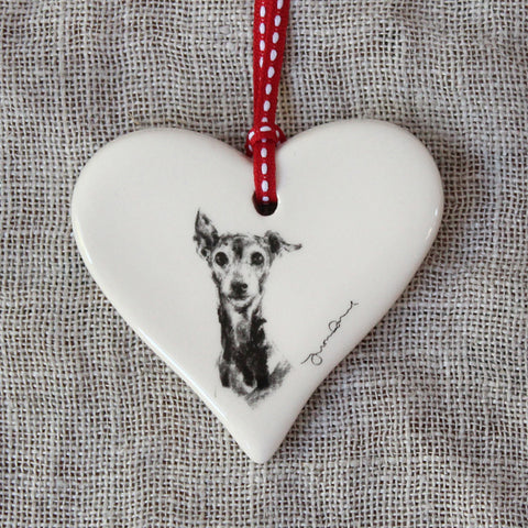 Italian Greyhound Heart