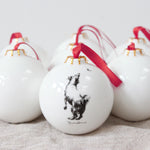 Jumping Jack Terrier Christmas Bauble