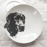 Black Labrador - Large Bowl