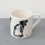 Looking Back Terrier Mug
