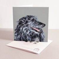 Lurcher Fine art card