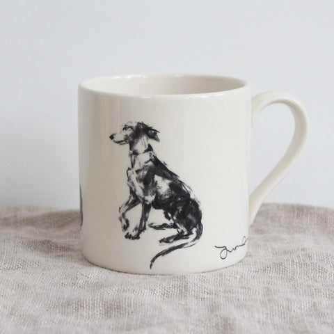"""Please"" Whippet Mug"