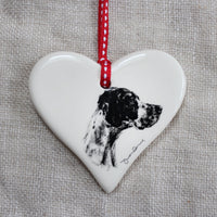 Pointer dog Heart