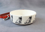 Pug Dog Feeding Bowl - Small