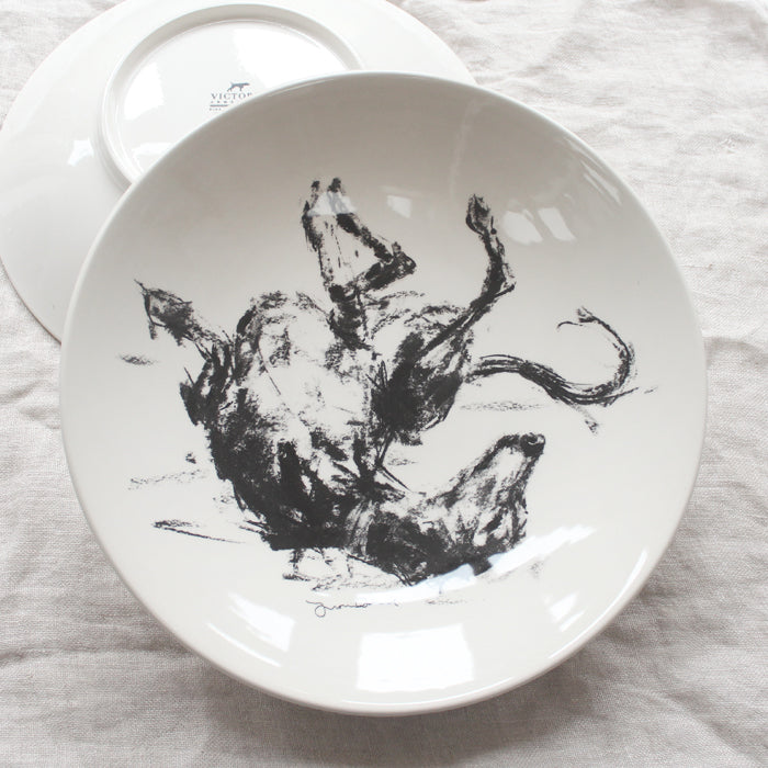 Rolling Sighthound - Large Bowl