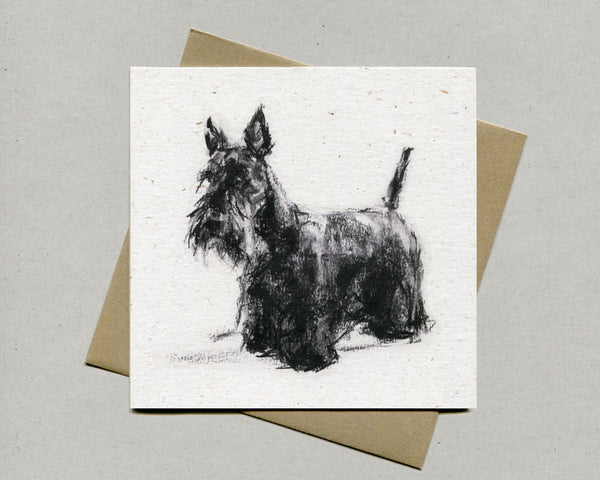 Scottie Fine art card