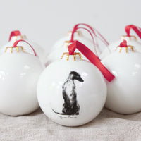 """Serene"" Christmas Bauble"