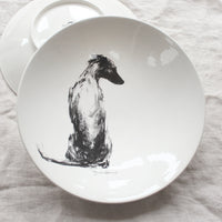 Serene Whippet - Large Bowl