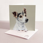 Jack Russell Terrier Fine art card
