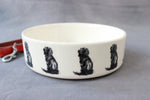 Spaniel Dog Feeding Bowl - Large
