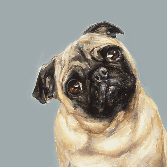 8. Tan Pug (2) Limited Edition Print