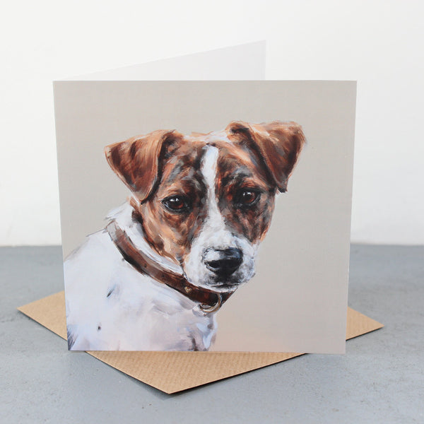 Terrier Greetings Card