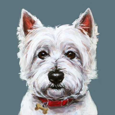 West Highland Terrier  Limited Edition Print