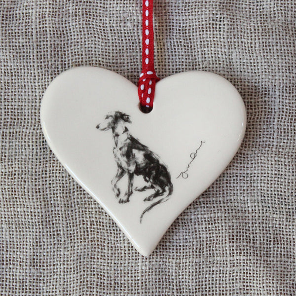 Whippet Paw Heart