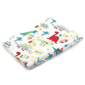 100% Cotton Baby Wrap Soft Newborn Blankets - Happy Trends Outlet