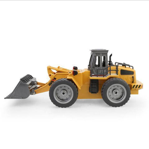 1/18 RC Metal Bulldozer RC - Happy Trends Outlet