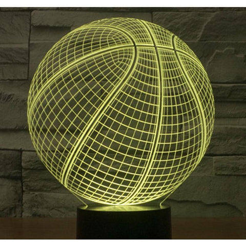 3D LED Basketball Night Lights - Happy Trends Outlet