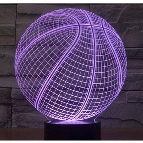 Image of 3D LED Basketball Night Lights - Happy Trends Outlet