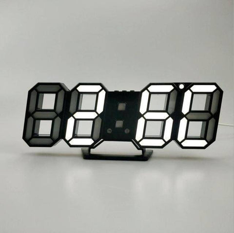 Image of 3D LED Wall Clock - Happy Trends Outlet