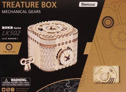 3D Wooden Model Building Kit - Happy Trends Outlet