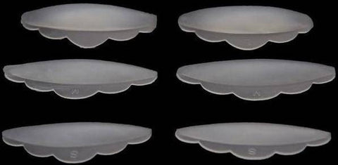 Image of 6pcs Silicone Eye Lash Shields Pads - Happy Trends Outlet