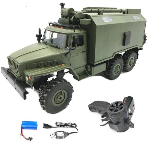6WD RC Car Military Truck Rock Crawler - Happy Trends Outlet