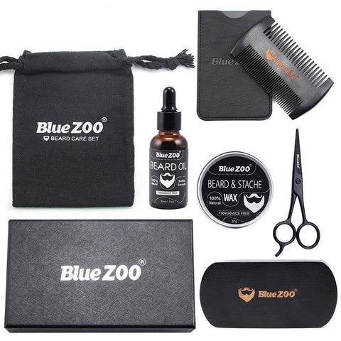 7 Piece Beard Grooming Set - Happy Trends Outlet