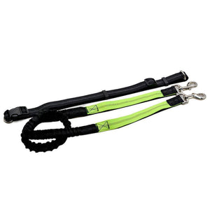 Adjustable Hands Free Bungee Dog Leash - Happy Trends Outlet