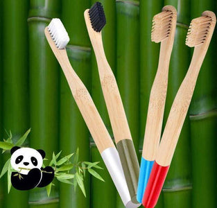 Bamboo Toothbrush - Happy Trends Outlet