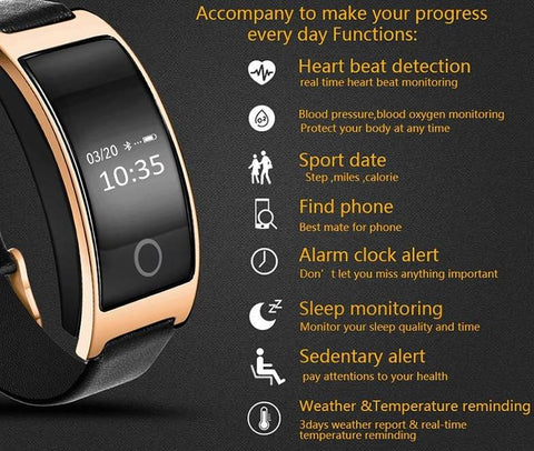 Image of Blood Pressure Smart Watch and Heart Rate Monitor - Happy Trends Outlet