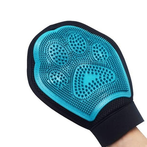 Cat Pet Dog fur Grooming Glove - Happy Trends Outlet