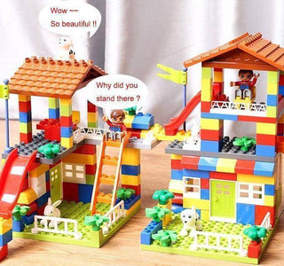 Colorful Lego Castle For Kids - Happy Trends Outlet