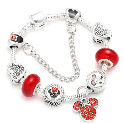 Image of Disney Charm Bracelet - Happy Trends Outlet