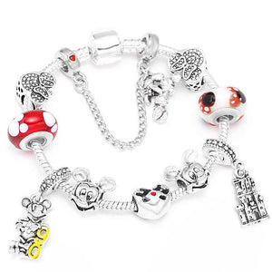 Disney Charm Bracelet - Happy Trends Outlet