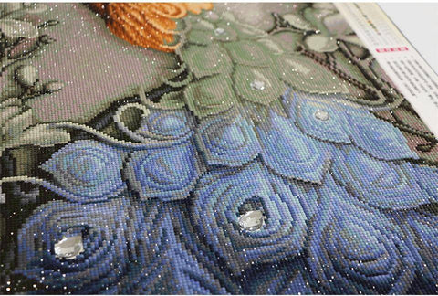 Image of DIY Full Diamond Embroidery Peacock - Happy Trends Outlet